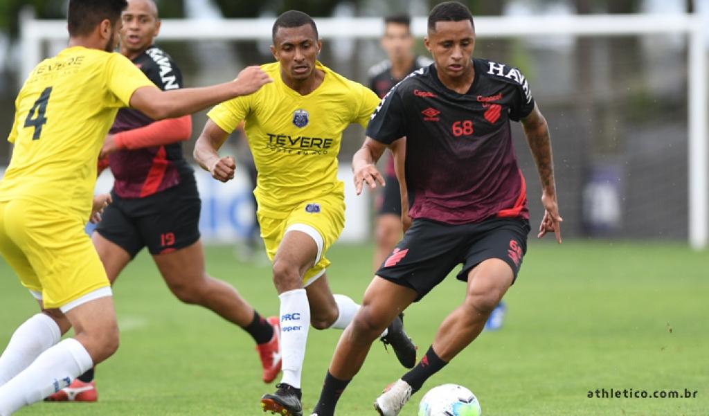 Guarani empatou com o Athletico