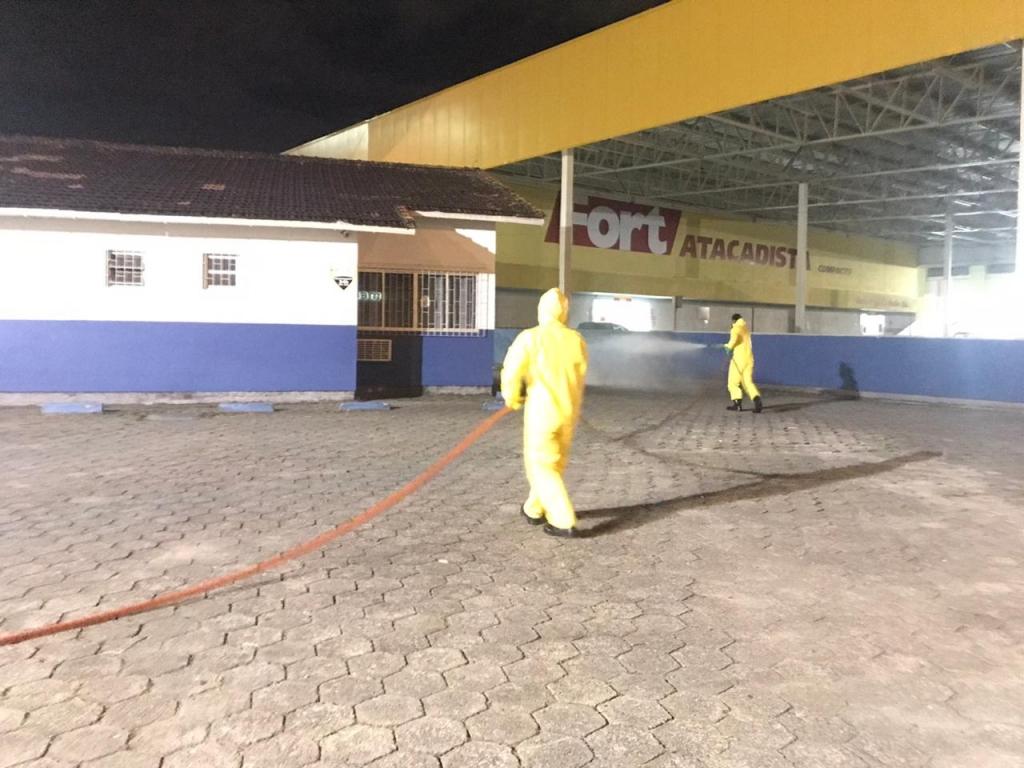 Prefeitura inicia ação de desinfecção de áreas