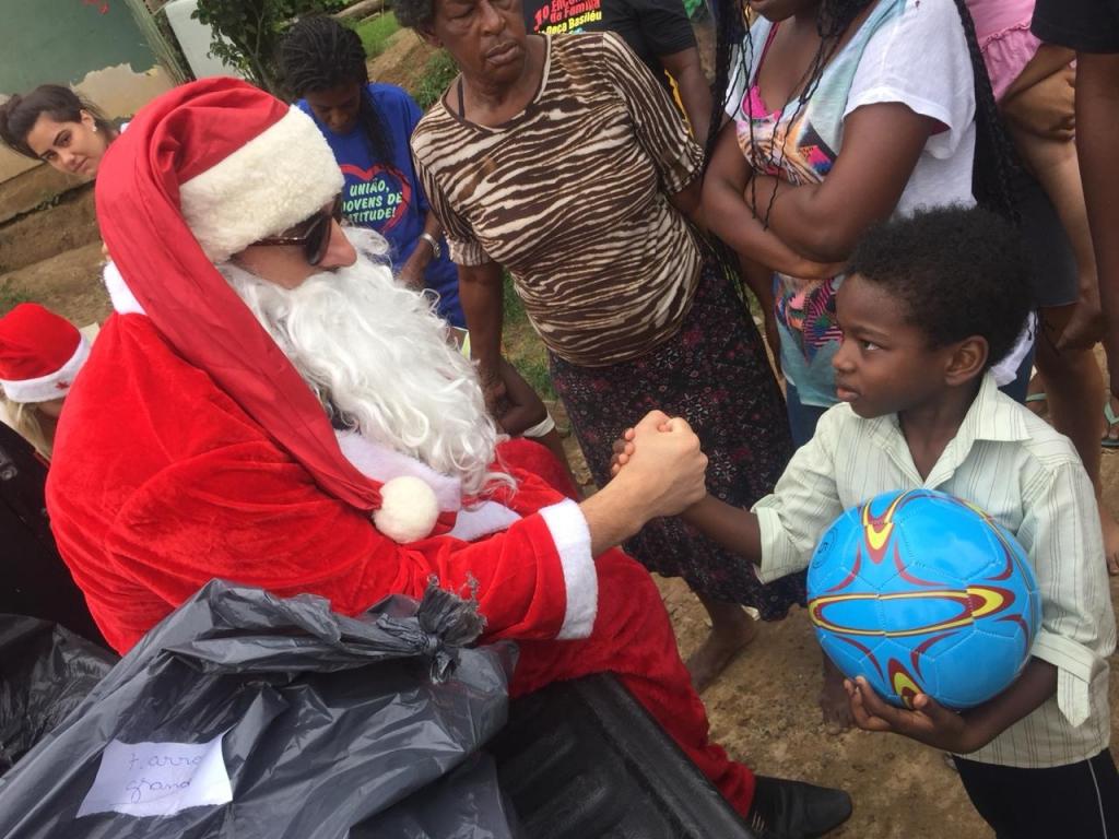 Ações sociais povoaram o clima natalino