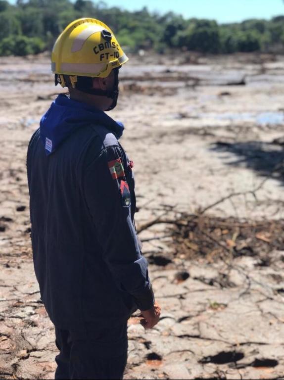 Bombeiro de PH retorna de missão em Brumadinho