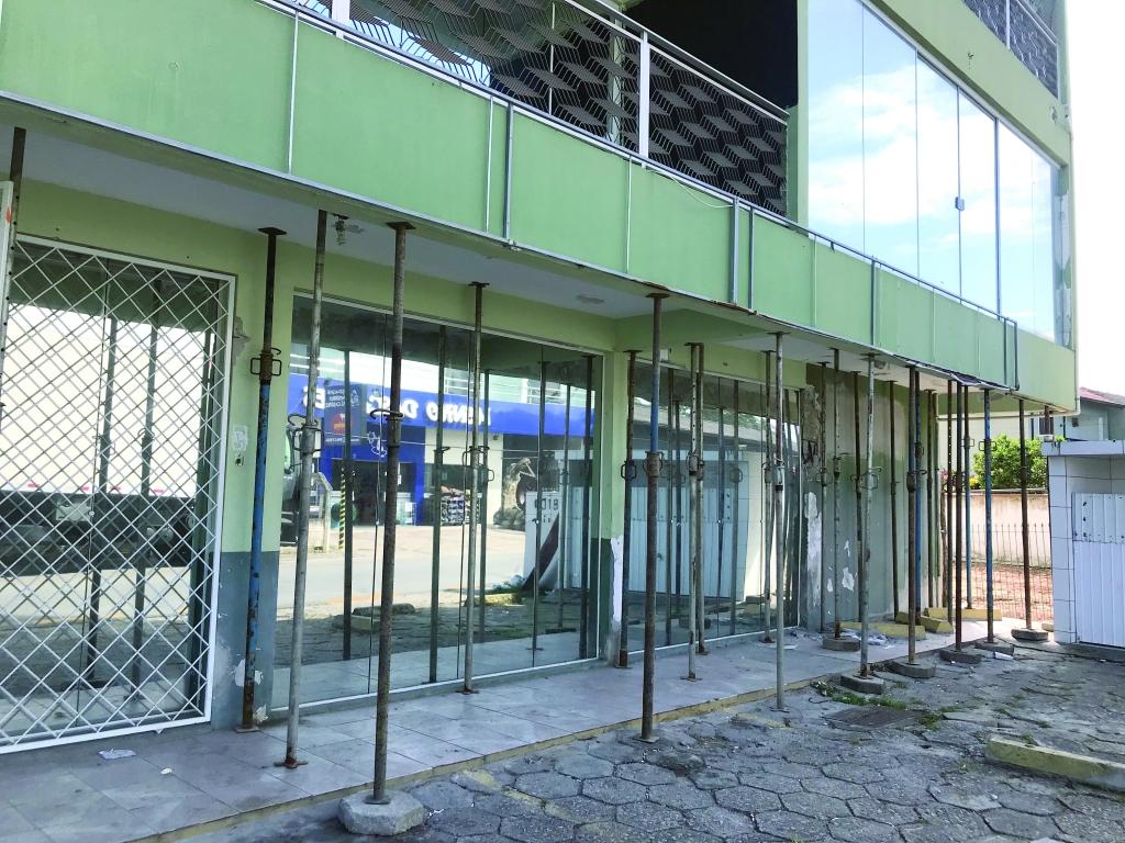Laudo confirma risco de colapso de prédio
