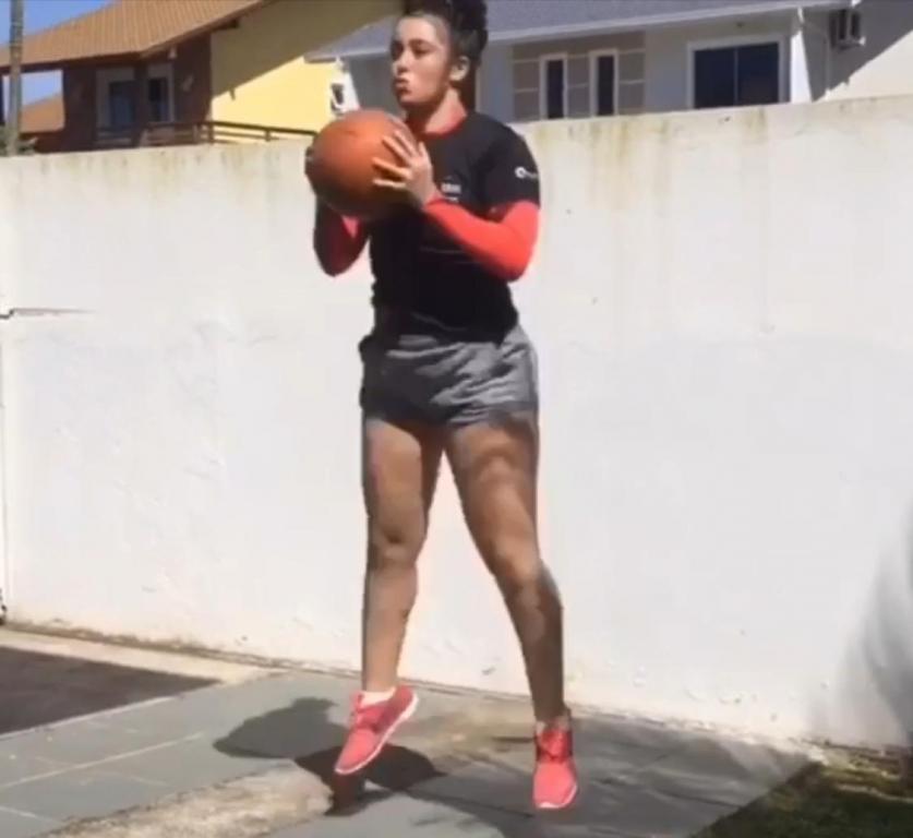Atletas em quarentena