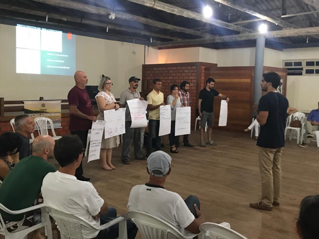 Mobilização social na Guarda do Embaú