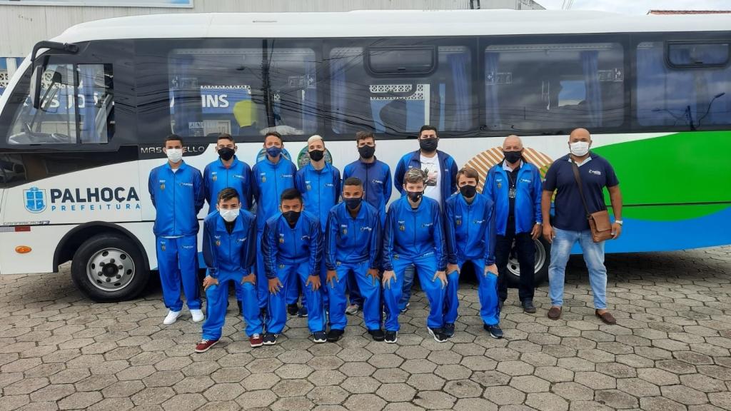 Futsal: sub-15 de Palhoça estreia no Catarinense