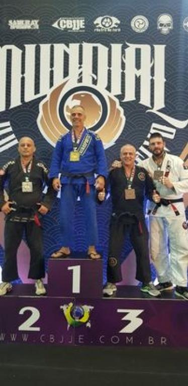 Nettão Silva é bronze no Mundial