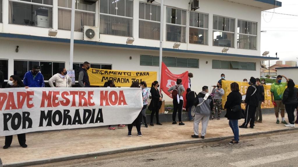 Moradores de ocupação urbana temem despejo