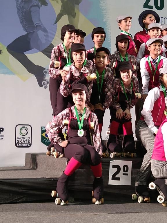 Patinação conquista medalhas no Brasileiro