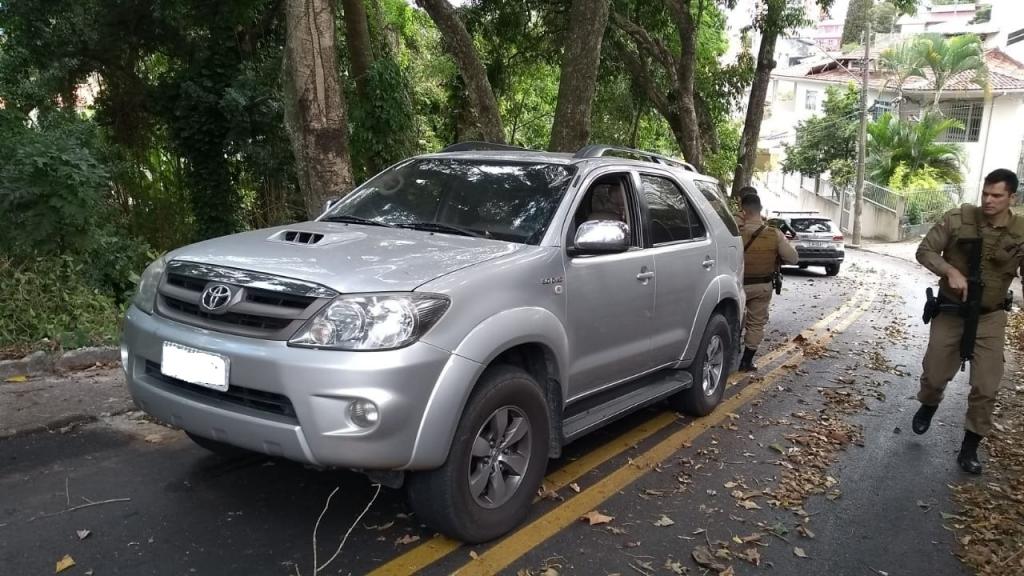 Veículo roubado em PH é recuperado na Capital