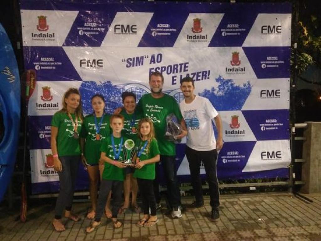 Projeto Remar na Enseada participa de competição