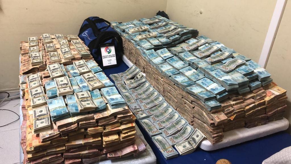 Apreensão em PH: 300kg de drogas e R$ 8 milhões