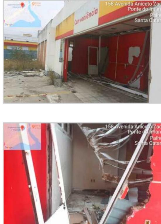 Bala pede demolição de posto na Ponte do Imaruim