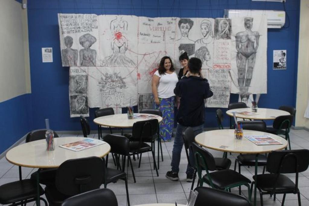 Protagonismo discente em ação no Ivo Silveira