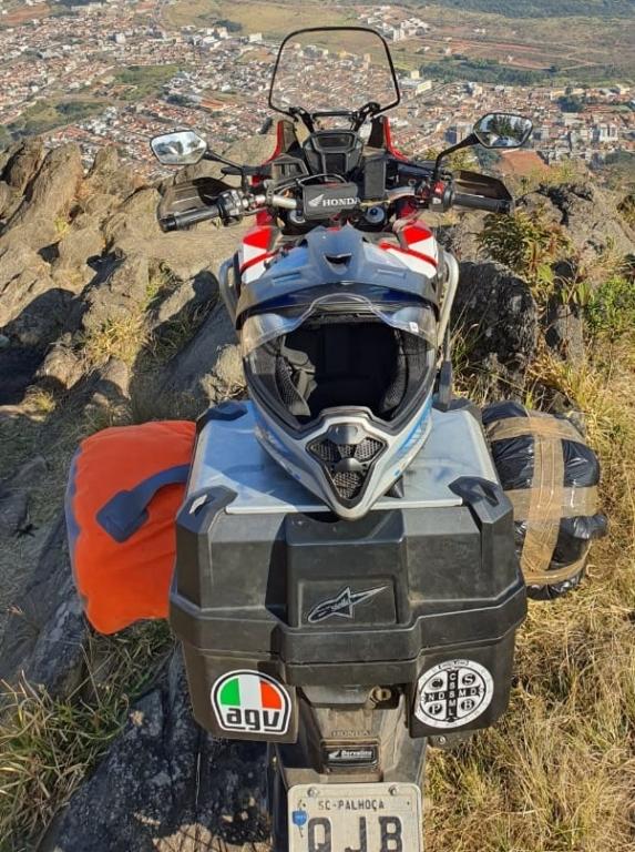 Palhocense viaja de moto pelo Brasil