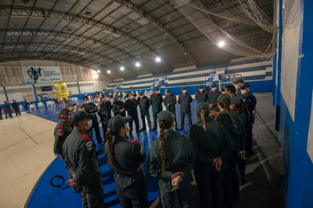 Corpo de Bombeiros de PH celebra 16 anos