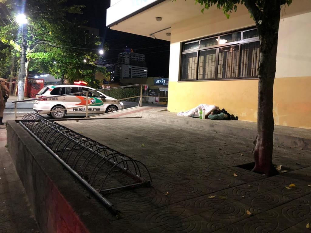 Prefeitura aborda moradores de rua