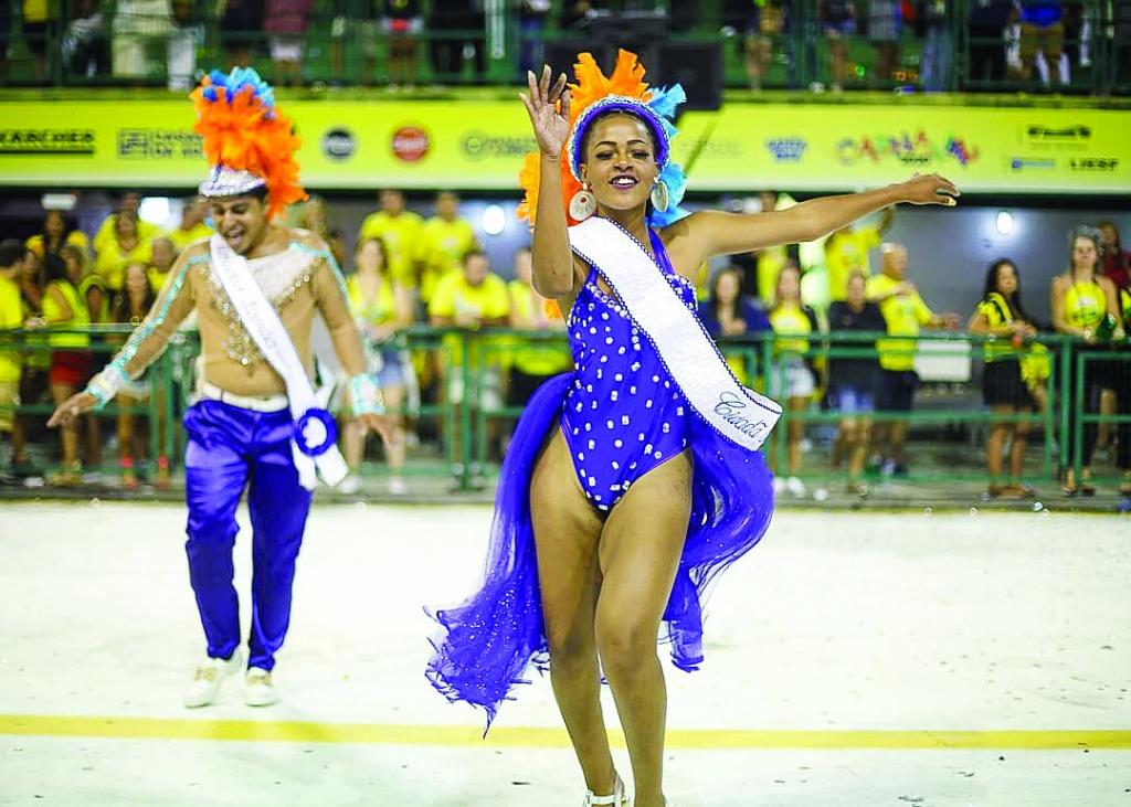 Nação Guarani leva 1,1 mil componentes à avenida