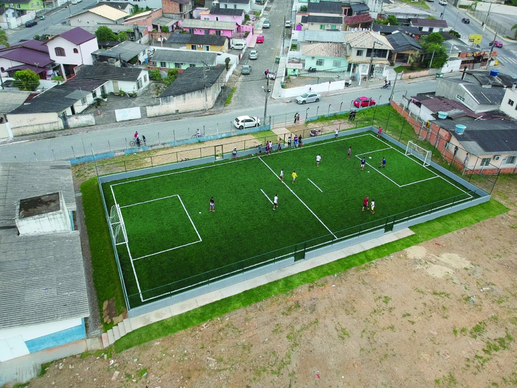 Prefeitura amplia espaços esportivos e de lazer