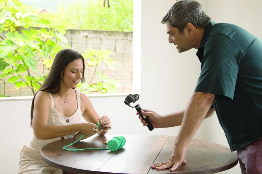 Lelê Crochê: Palhoça na Globo
