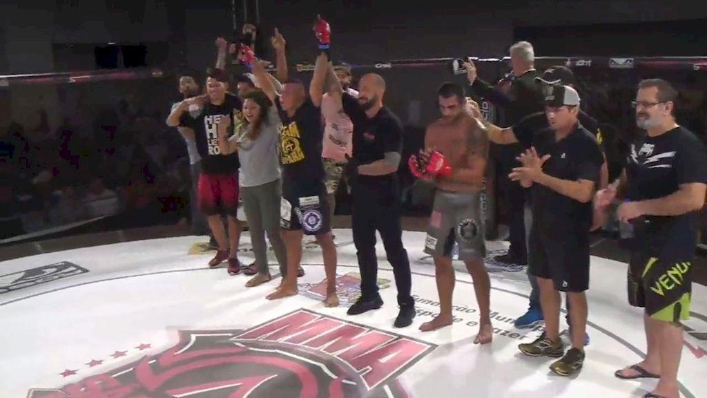 Irmãos do bairro Vila Nova vencem São José Super Fight MMA