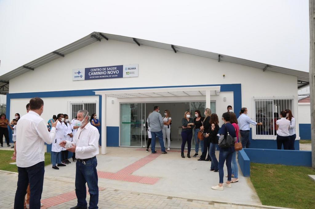 Caminho Novo ganha posto de saúde
