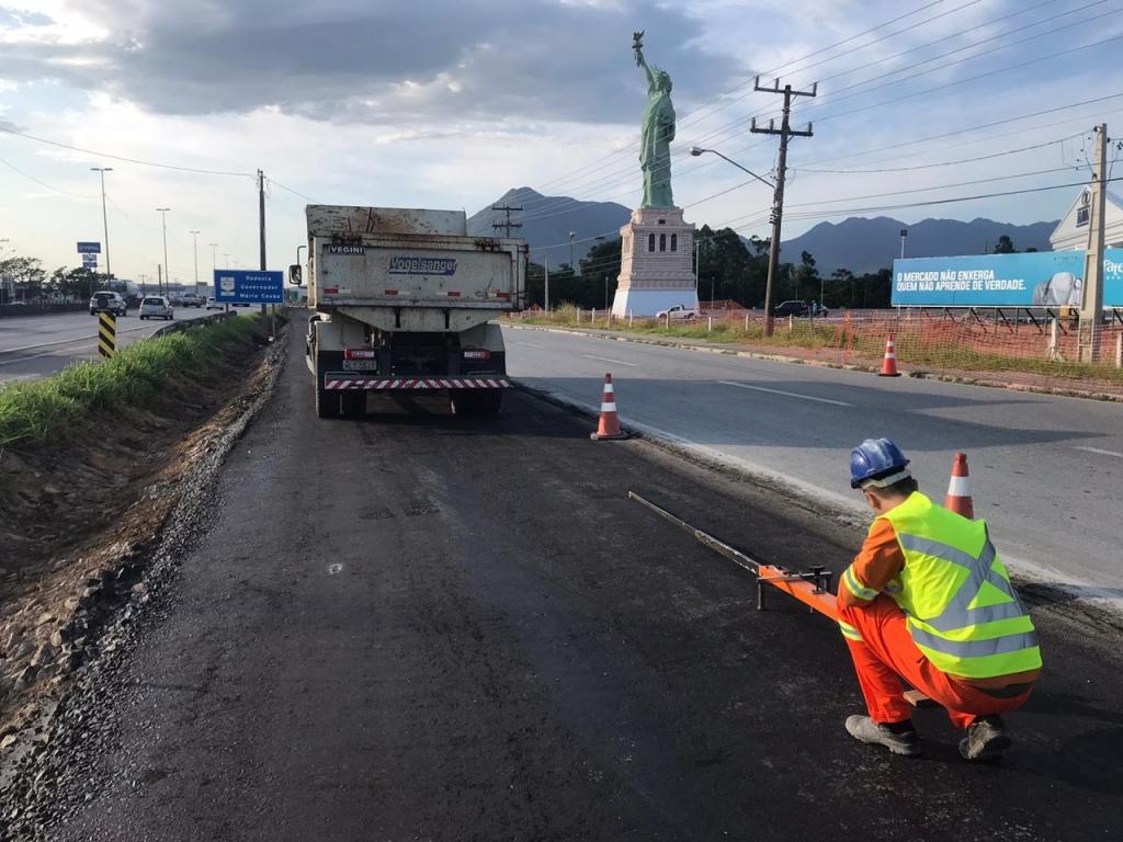 Trânsito: obras na BR-101 devem terminar em junho