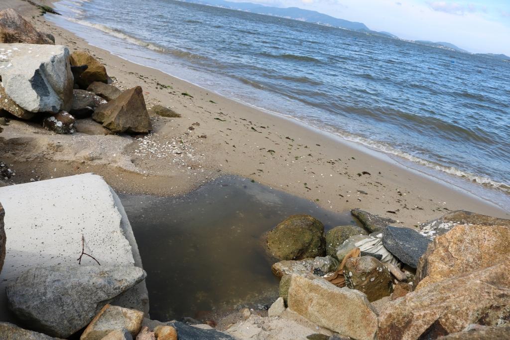 Moradores preocupados com contaminação no Pontal