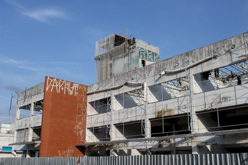 O perigo dos prédios abandonados