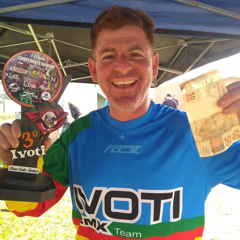 Marco Tocha disputa Campeonato Gaúcho de Bicicross