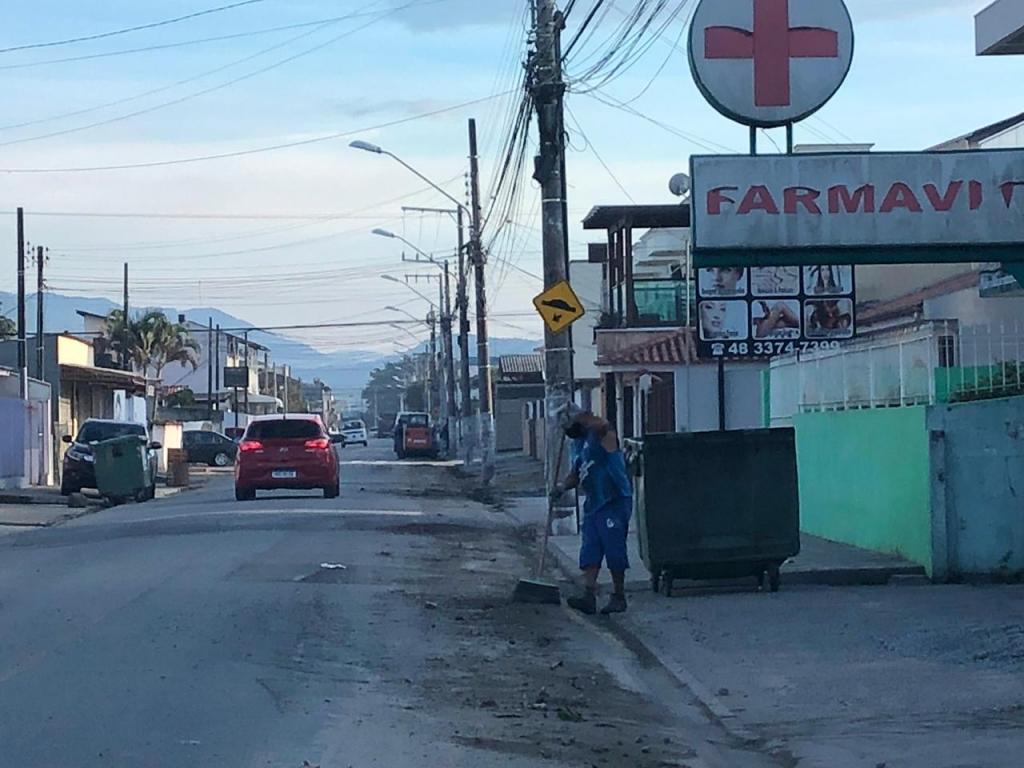 Moraes agradece por manutenção de ruas