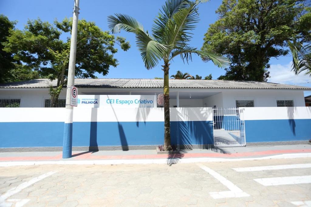 Prefeitura inaugura creche no Aririú