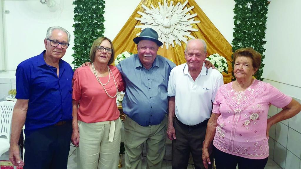 Rogério do Chapéu comemora 80 anos
