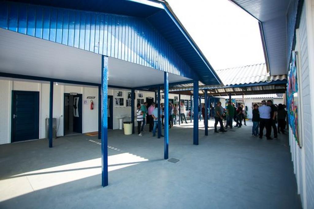 Inaugurada reforma de escola no Caminho Novo