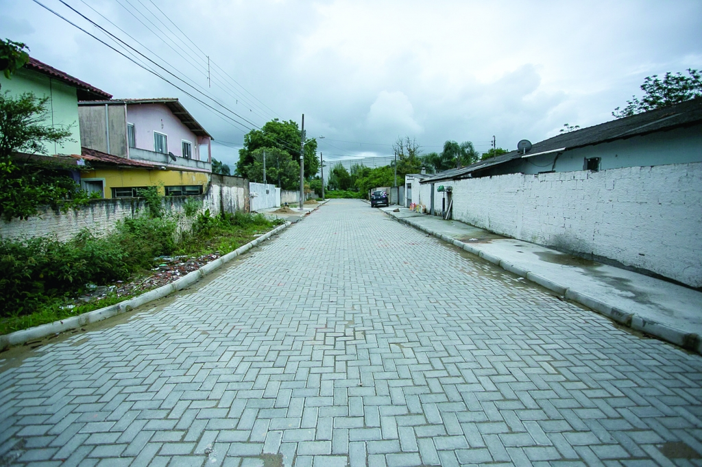 Prefeitura inaugura obras de pavimentação