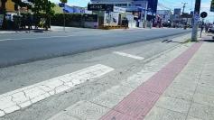 Faixas de segurança serão reativadas na Rio Branco