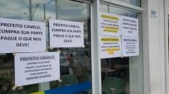 Servidores de PH em estado de greve