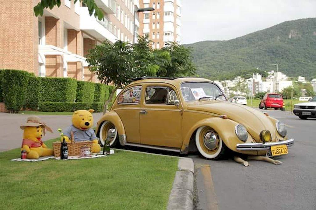 Fusca 1972 será um dos carros em exposição no 2º Encontro de Carros Antigos