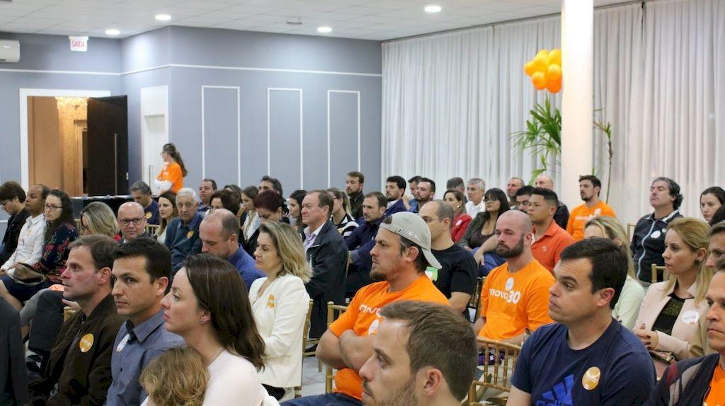 Paulo Scharf lança campanha
