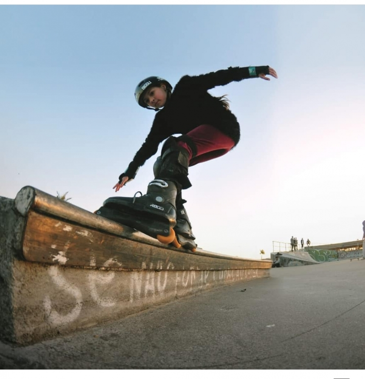 Nathalia Pasin Koerich, patinação