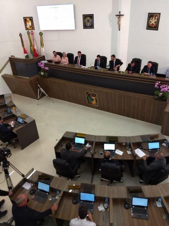 Eleição da mesa diretora da Câmara de Vereadores