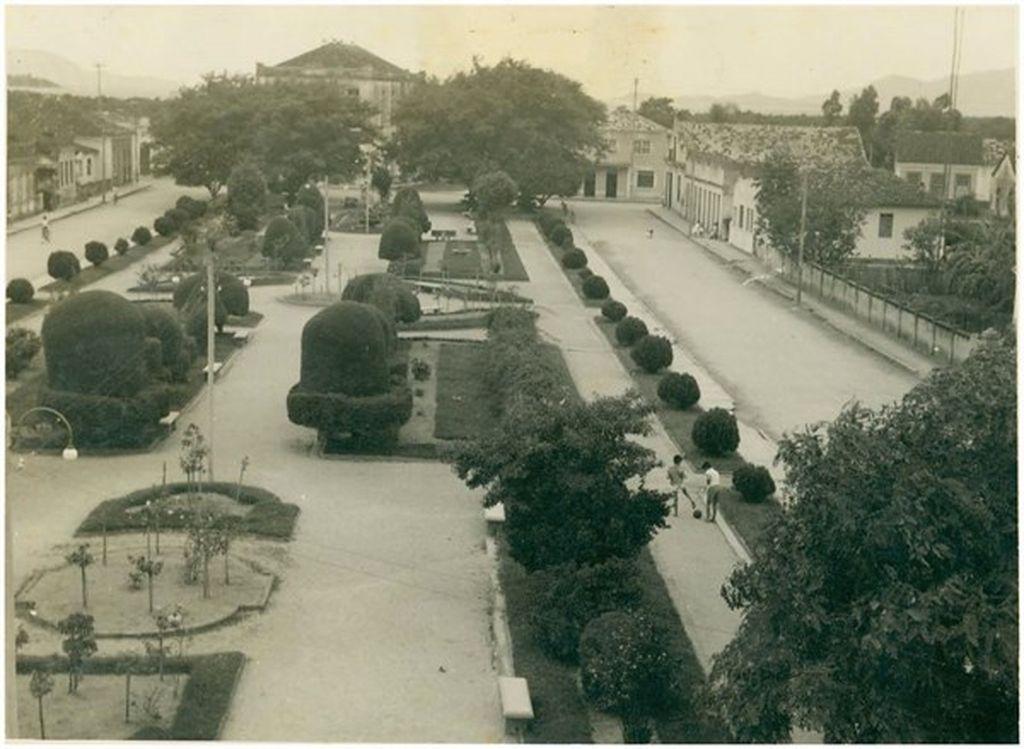 Praça Bacana nos anos 1960