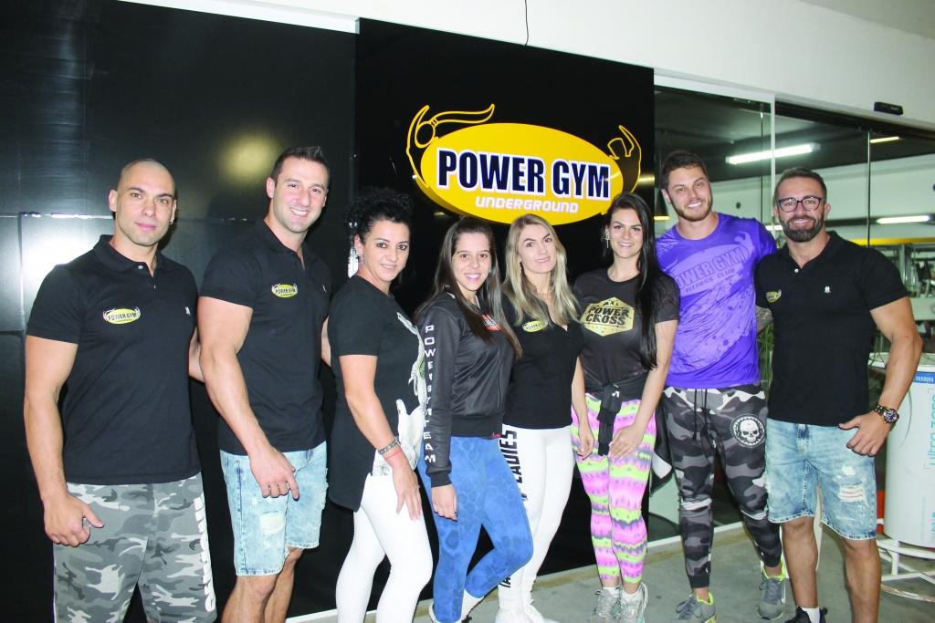Inauguração da academia PowerGym