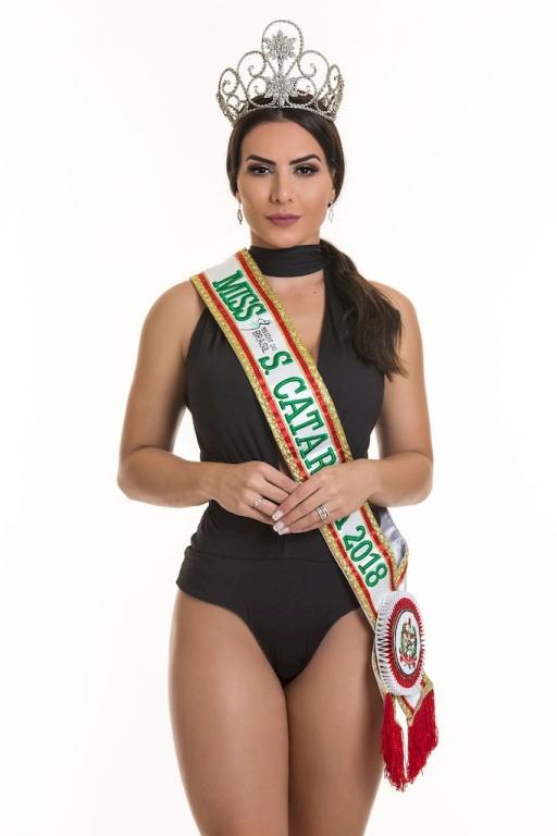Isabella Abdon representa SC no Belezas do Brasil