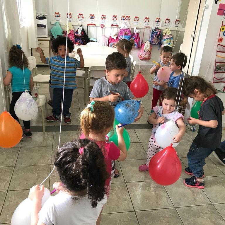 Pequenos Artistas é destaque em CEI no Aririú