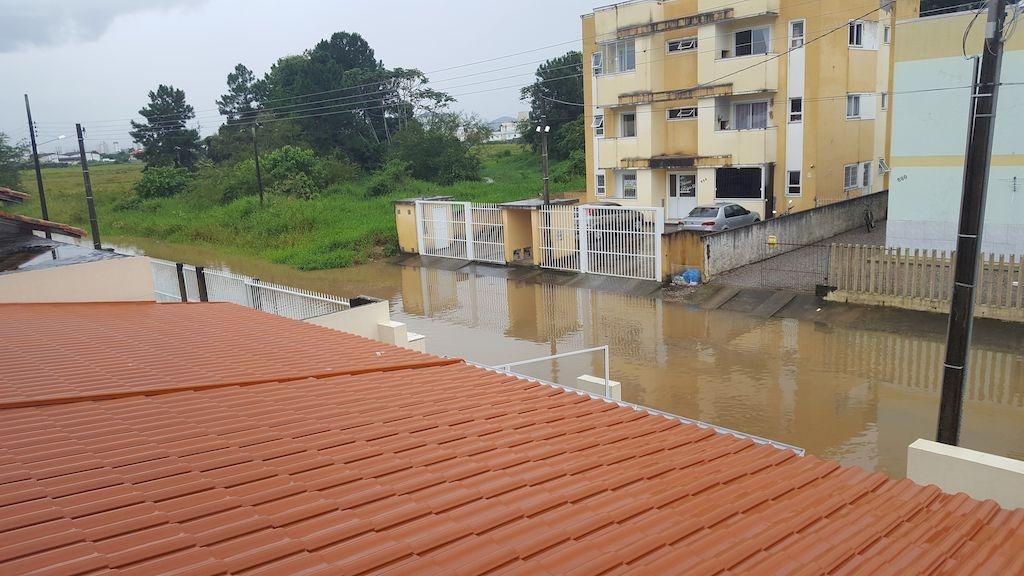 Os estragos de mais uma chuvarada
