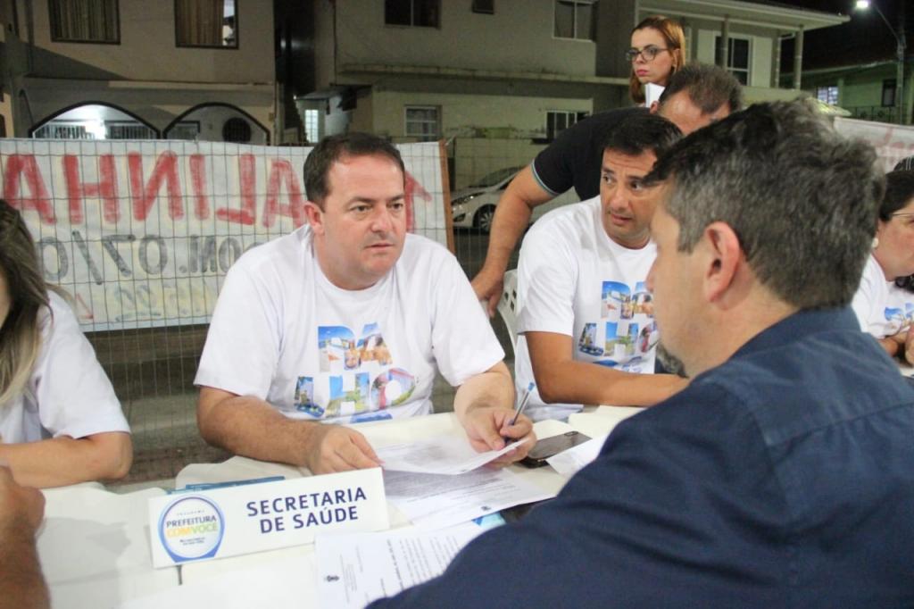 Prefeitura com Você chega à Ponte do Imaruim