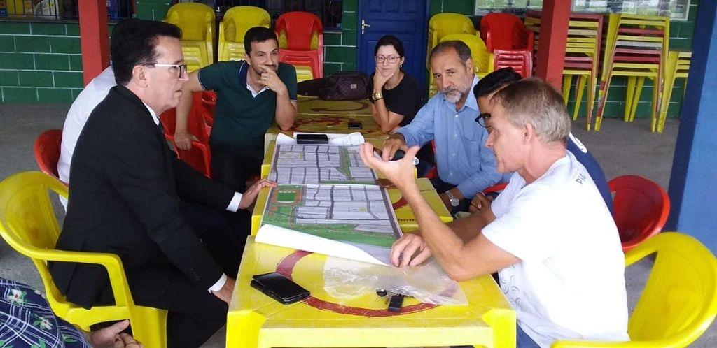 Bala e Hélio Costa unidos pelo Frei Damião