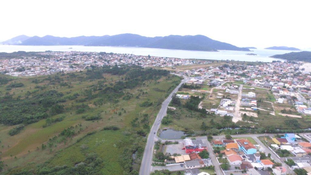 Imagem do drone do Palhocense mostra região da Praia do Sonho e Passagem do Maciambu