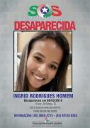 Família procura por menina desaparecida
