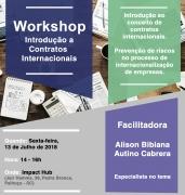 Workshop sobre contratos internacionais