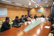 Ministro do Turismo recebe comitiva catarinense